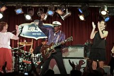 Chuck Berry B. King's Friday, June 25 There is a (probably apocryphal) story about Chuck Berry at a concert that, like most things from. Bb King, Chuck Berry, Berries, Rock, Live, Concert, Berry Fruits, Recital, Bury