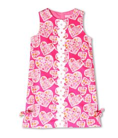 Adorable for Valentine's Day!    Lilly Pulitzer Kids Little Lilly Classic Shift Dress