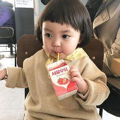 Cute Asian Babies, Cute Babies, Cute Baby Girl, Baby Fever, Cute Kids, Childhood, Children, Funny, Ulzzang