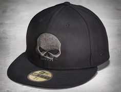 aee06f07d05 HARLEY-DAVIDSON x NEW ERA「Skull」59Fifty Fitted Baseball Cap Preview Harley  Gear