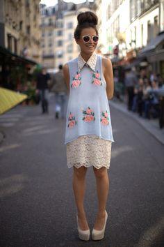 #womenswear #floral #streetstyle
