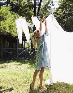 lld. Country Life, Country Girls, Country Living, Vida Natural, Diy Kleidung, Clothes Line, Boho, Simple Living, Farm Life