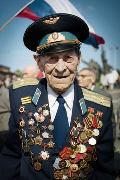 Eugene Chigvincev fought in the battle of Stalingrad in World War II. (Tina Remiz)