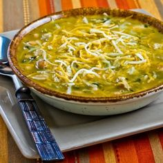 Recipe for Amy's Amazing White Chicken Chili from Kalyn's Kitchen