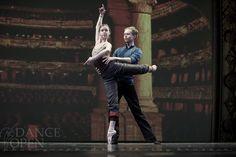 Leonid Sarafanov and Kristina Kretova in Don Quixote Grand Pas de Deux.  Copyright @ Nikolay Krusser