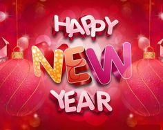 Beautiful New Year Greeting Card designs