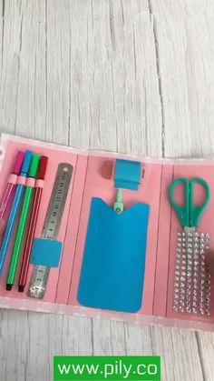 Cool Paper Crafts, Paper Crafts Origami, Cute Crafts, Toilet Paper Crafts, Cardboard Box Crafts, Kawaii Crafts, Diy Crafts Hacks, Diy Crafts For Gifts, Diy Home Crafts