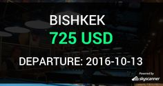 Flight from Charlotte to Bishkek by Avia    BOOK NOW >>>