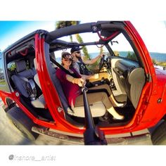 Rollin in the Jeep by @inshore__artist #gopro #jeepbeef Beyond the Wave  #Padgram