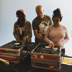 DJ Lessons. #CampSpinOff #Djlessons #kidsDJ #djlife