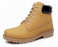 2016 Women Men boots Fashion Martin Boots Snow Boots Outdoor Casual cheap  Timber boots Autumn Winter 5f088eba874