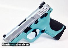 Tiffany blue Smith & Wesson M&P40 Compact PistolSave those thumbs & bucks w/ free shipping on this magloader I purchased mine http://www.amazon.com/shops/raeind No more leaving the last round out because it is too hard to get in. And you will load them faster and easier, to maximize your shooting enjoyment. loader does it all easily, painlessly, and perfectly reliably