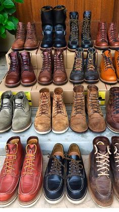 Mens Fashion Rugged – The World of Mens Fashion Mens Boots Fashion, Latest Mens Fashion, Male Fashion, Chippewa Boots, Red Wing Boots, Handmade Leather Shoes, Style Retro, Sneaker Boots, Leather Boots