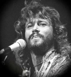 Barry Gibb. I saw the Bee Gees back in '77, I think. I was in 6th grade. He was absolutely gorgeous!!!