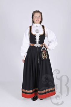Cheap wool dress, Buy Quality dresses shorts directly from China wool double knit fabric Suppliers: 2015 Custom Made Norway Traditional Festival Dress Bunads Plus Size Folk Costume, Costume Dress, Norwegian Clothing, European Costumes, Norwegian Wedding, Norway Viking, Island Outfit, Wool Dress, Ethnic Fashion