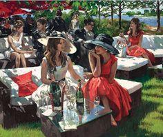 Champagne Bollinger Afternoon - Sherree Valentine Daines