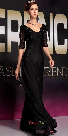 Stylish V-neck Lace Dress