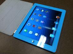 Custom Sky Blue iPad 2