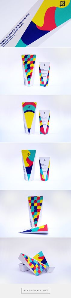 Abstract Duo packaging on Behance by Nora Renaud curated by Packaging Diva PD. Duo is a range of beauty products for the bath.