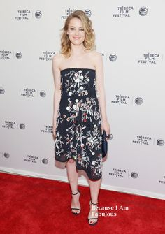 Gillian Jacobs Wearing Tanya Taylor - 'Life Partners' 2014 Tribeca Film Festival Premiere
