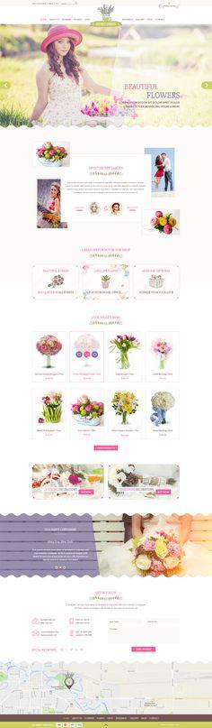 Flower Shop #flower shop #flowers #gardening • Download ➝ https://themeforest.net/item/flower-shop/19092053?ref=pxcr