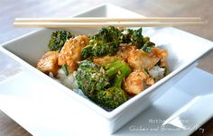 chicken and broccoli stir fry. I have all the ingredients on hand, it's easy, quick, looks delicious! check check check