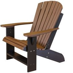 These DOWNLOADABLE Adirondack Plans include part sizes in standard ...