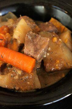 Crockpot Beer Beef Stew