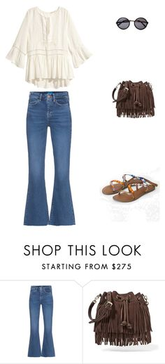 """70s"" by cami-ithu on Polyvore featuring moda, M.i.h Jeans, H&M y Rebecca Minkoff"