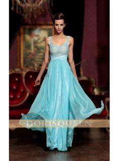 a2088f4363e Blue long elegant evening  party dress-  182.00