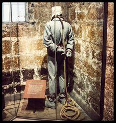 Man's inhumanity to man. #OldPhotos #Melbourne #Australia #OldMelbourneGaol #HangMansBox #Y2011