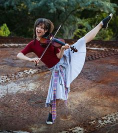Lindsey Stirling. how cool is she?