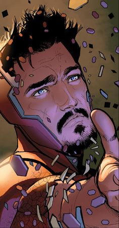 """""""Whoever said """"Beauty is Temporary but your Mind lasts Forever"""" obviously hasnt seen Tony Stark. Marvel Dc Comics, Marvel Art, Marvel Heroes, Marvel Avengers, Tony Stark Comic, Marvel Tony Stark, Iron Man Stark, Iron Man Pictures, Robert Downey Jr."""