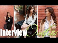 What to Wear to an Interview!! - Tips for New Grads! Advice on what to wear to a job interview!