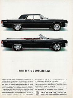 1963 Lincoln Continental Sedan and Convertible-