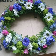 Trevlig midsommar! Crowns, Garland, Floral Wreath, Wreaths, Seasons, Summer, Home Decor, Floral Crown, Summer Time