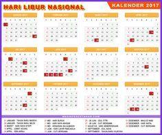 kalender 2017 indonesia libur nasional