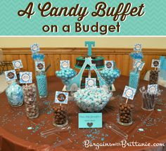 A Candy Buffet on a Budget Simplistically Living