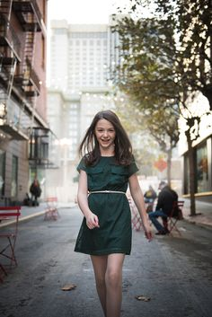 Stepping into womanhood through the ancient tradition of the Bat Mitzvah. Lauren looks excited and graceful. San Francisco Photography, Bat Mitzvah, Traditional
