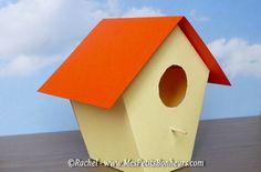 cabane à oiseau en papier_bricolage enfant