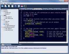 Arduino IDE for more advanced users