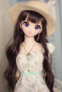 Custom DDH-06 [ STJ land ] Pretty Dolls, Cute Dolls, Beautiful Dolls, Ooak Dolls, Blythe Dolls, Barbie Dolls, Doll Museum, Doll Japan, Cute Girl Wallpaper