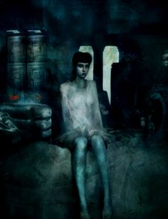 """""""Rachael No. 2"""" --  painting by artist Christopher Shy."""