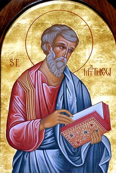 image for paper bag batik.  St. Matthew the Apostle
