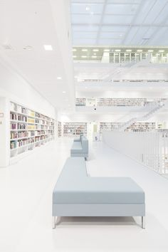 felix lochner captures city library stuttgart devoid of humans