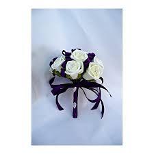 bridesmaid bouquets cadbury purple - Google Search
