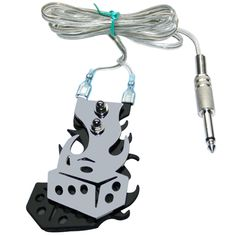 1Pcs Stainless Steel Dice Tattoo Foot Switch Pedal Tattoo Clip Cord Controller Tattoo Power Supply fuente de alimentacion tattoo
