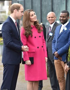 Their Royal Highnesses will be accompanied by the Baroness as they tour the building. They...