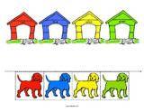 Color Match Pets Theme Activities for Preschool PreK and Kindergarten