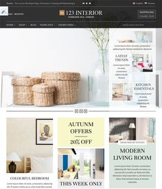 This interior design and furniture WordPress theme comes with a Bootstrap framework, WooCommerce and WPML compatibility, a responsive layout, Google Web Fonts, a drag and drop page builder, 100+ shortcodes, and more.